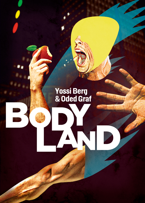 'BodyLand'  by Yossi Berg and Oded Graf, photo Robin Hart © YOSSIODED.COM